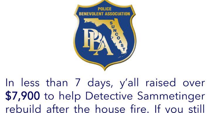 Detective Sammetinger house fire fund